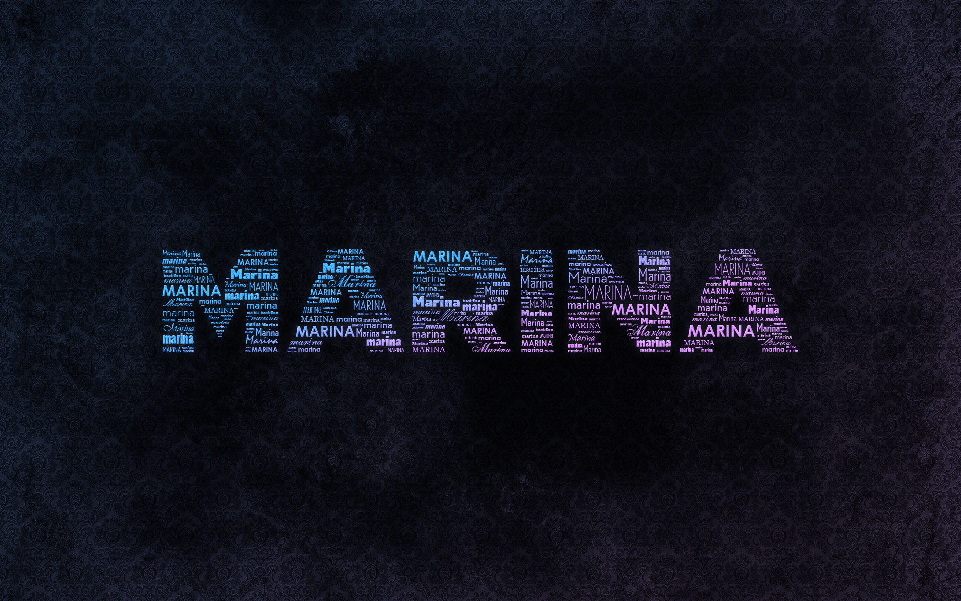 Marina's Wallpapers // Graphic Design